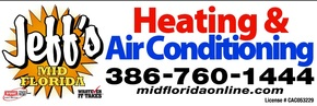 Jeff's Mid Florida Air Heating and AC Companies